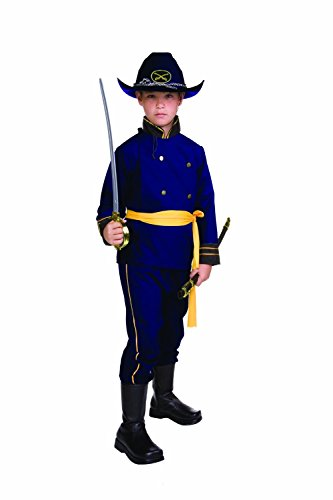 RG Costumes Union Officer, Child Medium/Size (Civil War Costumes For Sale)