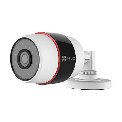 EZVIZ 1080p Outdoor WiFi Bullet Camera, Motion Detection, Audio Reception, Night Vision – REFURBISHED