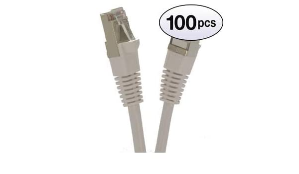 Red 26AWG Network Cable with Gold Plated RJ45 Snagless//Molded//Booted Connector 5-Pack - 6 Feet GOWOS Cat5e Shielded Ethernet Cable 350MHz 1Gigabit//Sec High Speed LAN Internet//Patch Cable