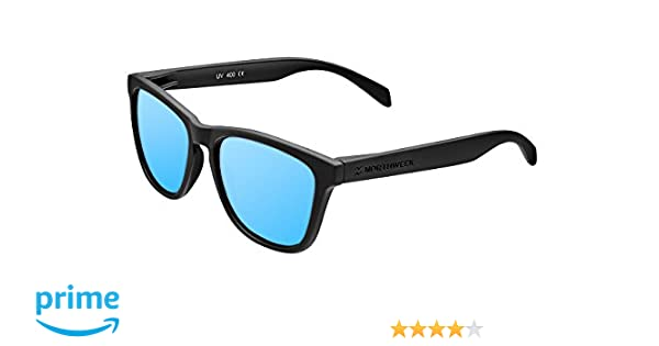 475561ea78 Northweek NDR300015 Regular Deck Gafas de Sol Polarizadas, Negro/Azul  Hielo: Amazon.es: Ropa y accesorios