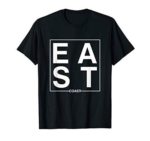 Men's East Coast NY Gift East Coast Pride T-Shirt
