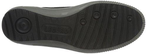 Legero Tanaro - Zapatillas para Mujer Negro (SCHWARZ 00)
