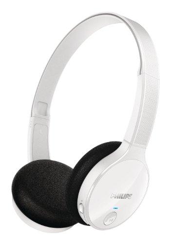 Philips Bluetooth Stereo On-Ear White Headphone SHB4000/WT w