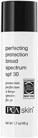 PCA SKIN Perfecting Protection Broad Spectrum SPF 30, Antioxidant Daily Facial Sunscreen, UVA/UVB Protection, 1.7 Fl Oz