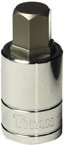 "Titan Tools 15615 15 mm 1/2"" Drive Hex Bit Socket"