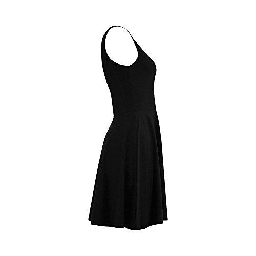 Dress Sundress Flamingo Story Dress Women Sleeveless D Women Summer zR7qpTw