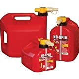 No-Spill Gas Can - 1.25 Gallon/Red