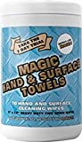 Green Tree, Magic Hand Towel, Industrial Hand Cleaner, 70 count, (Pack of 6)