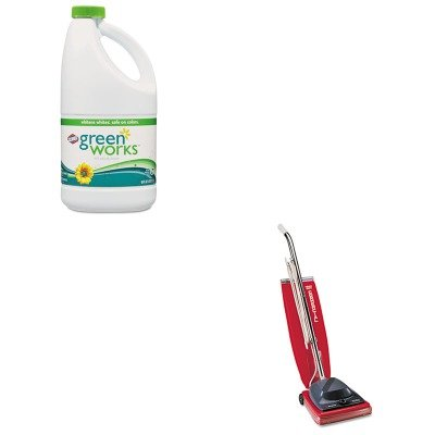 KITCOX30647EUKSC684F - Value Kit - Clorox Naturally Derived Non-Chlorine Bleach (COX30647) and Commercial Vacuum Cleaner, 16quot; (EUKSC684F)