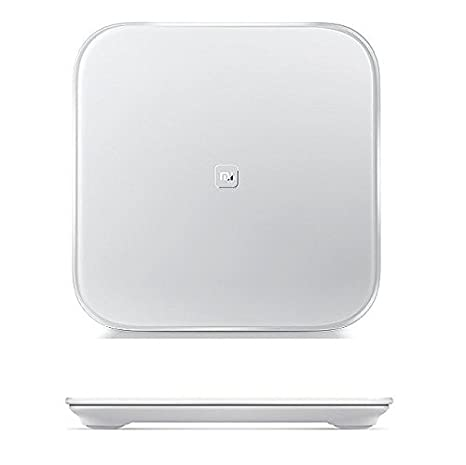 SEEM® XIAOMI Scale Smart Báscula inteligente compatible con Android e iOS. Blanco: Amazon.es: Hogar