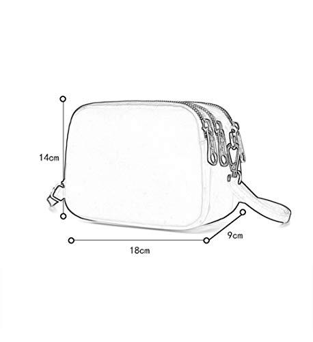 multi in donna colori 5 a nylon Casual Borsa tasca viaggio leggero tracolla borsa opzionali da Impermeabile tracolla da 1 a Piccola xzvqwYZU