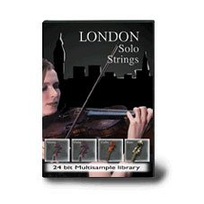 London Solo Strings-24 Bit Kontakt Player