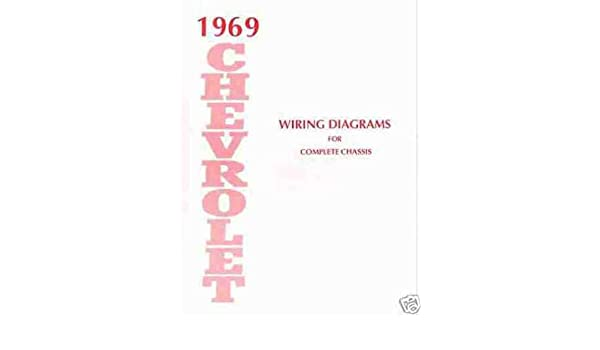 wiring diagrams cars 1969 chevrolet cars complete 10 page set of factory electrical  1969 chevrolet cars complete 10 page