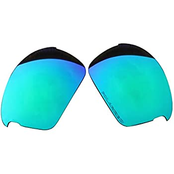 49d98559d90 Polarized Replacement Lenses for Oakley Bottle Rocket Sunglasses - 5  Options Available (Emerald Green Mirror Coatings)