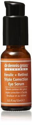 Dr. Dennis Gross Skincare Ferulic + Retinol Triple Correction Eye Serum, 0.5 fl. oz.