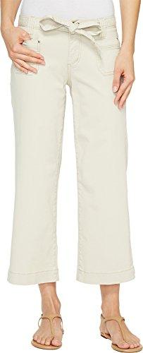 Twill Crop (Jag Jeans Women's Wallace Crop in Bay Twill Stone Pants)