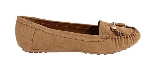 by Shoes para Beige Bailarinas Mujer v7vpAxrw