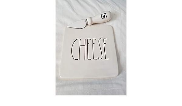 Rae Dunn Cheese en Letras Grandes Tabla de Cortar Queso y ...