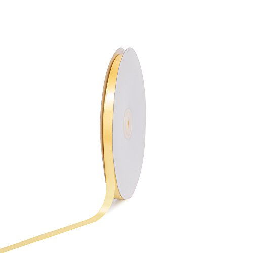 [Creative Ideas PSF0308-640 Solid Satin Ribbon, 3/8