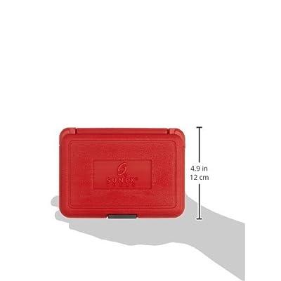 Sunex 2960SE 1/2-Inch Drive External Star Impact Socket Set, Standard, 6-Point, Cr-Mo, E10 - E24, 9-Piece - E Socket Set - .com