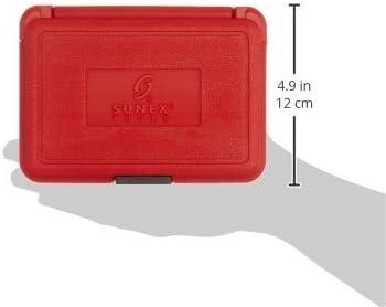 9-Piece 6-Point E10 Standard Sunex 2960SE 1//2-Inch Drive External Star Impact Socket Set E24 Cr-Mo