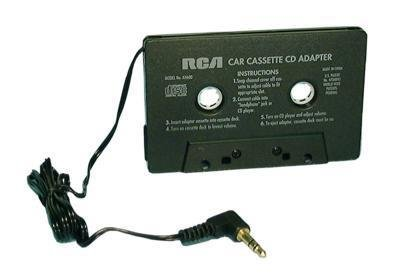 Tape Deck to Mp3 Player Adapter