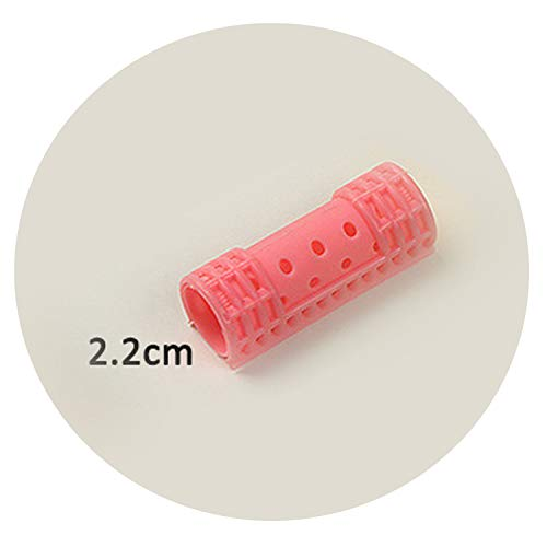 Hair Rollers with Clips Snap Hair Curlers Steam Perm Rod Hairdressing Salon & Home Use DIY Magic Rollers Air Bang Curler U1108,22mm
