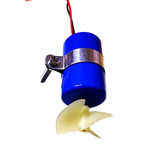 SHEAWA RC Jet Boat Underwater Motor Thruster 7.4V 16800RPM CW CCW 3-Blades Propeller fr DIY Micro ROV Robot RC Bait Boat Submarine Accessaries