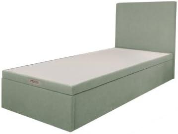 Somier baúl Easy, 30 cm, Chiné vert, 90 x 190 cm: Amazon.es ...