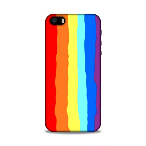 LaidBack Back Cover for Apple iphone 5S Polycarbonate/Multi coloured