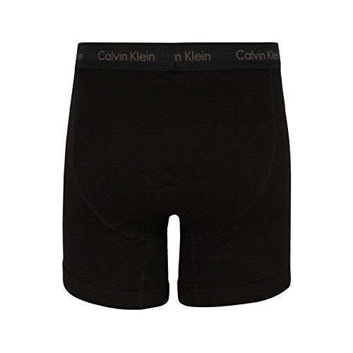 Calvin Klein Boxer Shorts Hombre Ropa Interior Accesorio Casual Vestir Negro Small