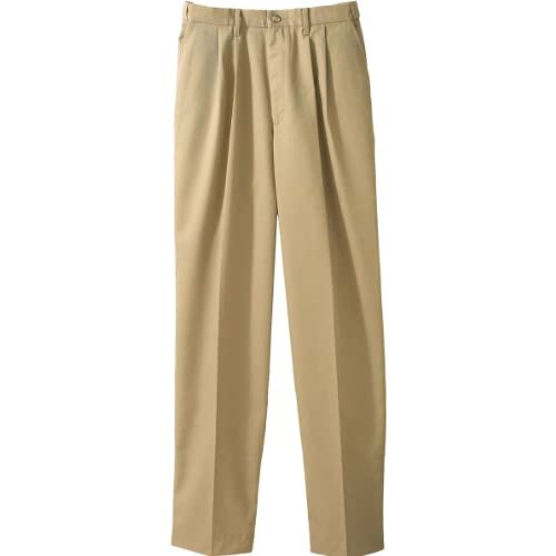 Edwards Mens Easy Fit Chino Pleated Pant