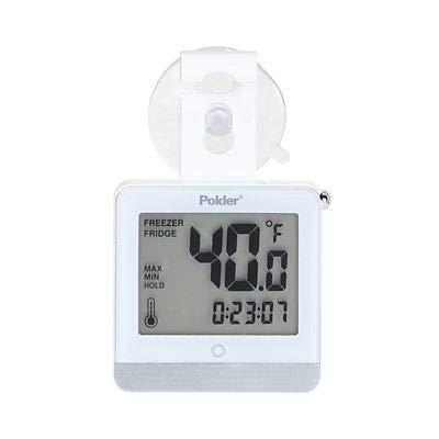 Polder - Termómetro digital para frigorífico y congelador: Amazon ...