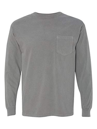 Comfort Colors - Garment Dyed Heavyweight Ringspun Long Sleeve Pocket T-Shirt - 4410 from Comfort Colors