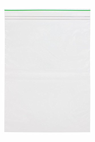 Minigrip GreenLine MGBD2P0912 Polyethylene (LDPE Blend) Clear Reclosable Bag, 9'' x 12'', 2 mil (Pack of 1000) by Minigrip GreenLine