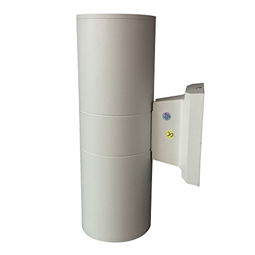 OKELUX External LED Up Down Wall Light Modern Outdoor Wall Lamp Waterproof  30W With White Fixture