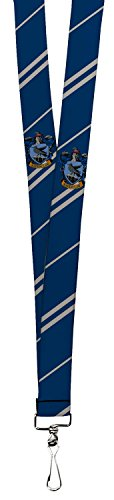 Harry Potter Fantasy Movie Series Ravenclaw Stripes Fun Lanyard