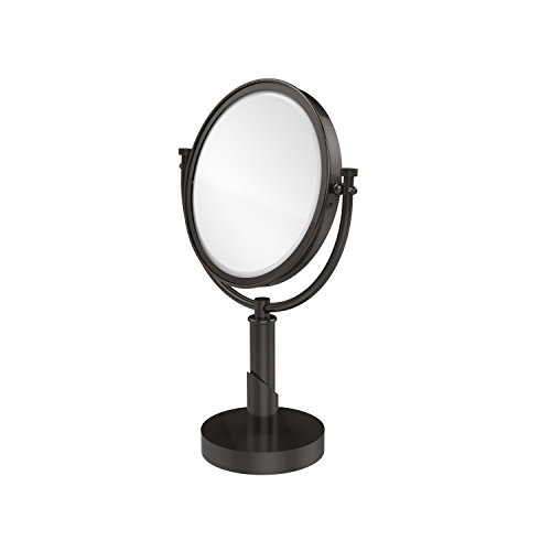 Allied Brass TR-4/3X-ORB Table Mirror with 3X Magnification, Oil Rubbed Bronze (Allied Brass Table Mirror)