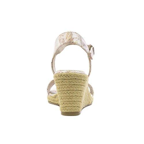 Tamaris Keil Sandale IM Rose Goldgroben sackzeug für Frauen durch Mehrfarbig