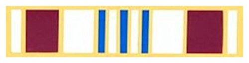 Defense Meritorious Service Medal-LAPEL - Service Meritorious Medal Ribbon