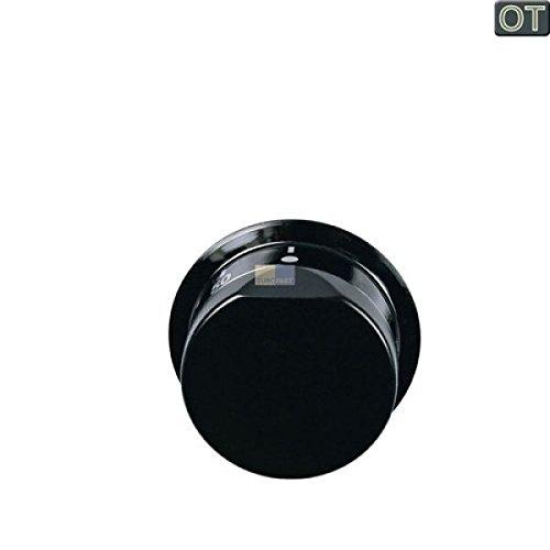 Knebel Drehknopf 50mm schwarz 50-250/° universell Backofen Ofen EGO 00.00524.820