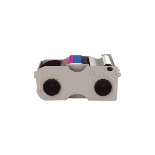 - Fargo 45010 Ribbon Cartridge - YMCKOK - Thermal Transfer, Dye Sublimation - 200 Card
