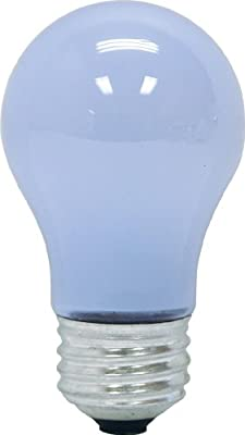 GE Lighting 76594 Reveal 40-Watt, 260-Lumen A15 Light Bulb with Medium Base, 8-Pack