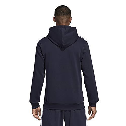 Felpa Uomo Con Adidas Cappuccio Marine Dq3096 Bleu blanc 7wOn1aq