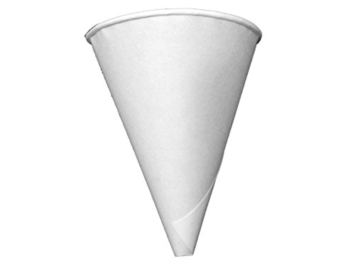 Price comparison product image Konie Funnel - 4.0KRF Recyclable Paper Cone Funnel,  4 oz Disposable {Tazas de cono de embudo} (1 Pack (200ct))
