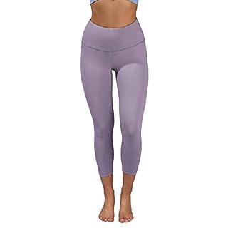 90 Degree By Reflex - High Waist Tummy Control Shapewear - Power Flex Capri - Lavender Night - Medium
