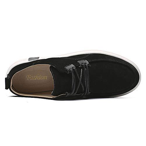Scarpe Barca da Nero Jiuyue shoes Uomo Uq7nTw
