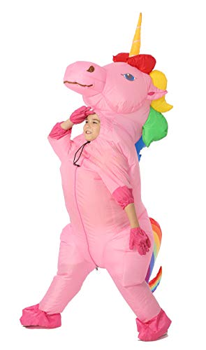Funny Costumes Unicorn Inflatable Costume (Unicorn Rainbow