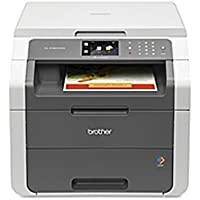 Brother HL-3180CDW LED Multifunction Printer - Color - Duplex - Copier/Printer/Scanner - 23 ppm Mono/23 ppm Color Print - 600 x 2400 dpi Print - Wireless LAN - USB 2.0 (Certified Refurbished)