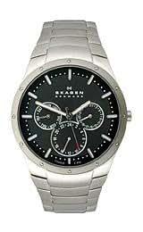 Skagen Disney Mickey Silhouette Titanium Men's watch #D596XLTXM